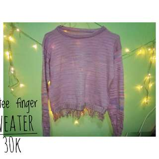 Croptee sweater