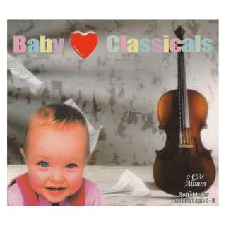 <Baby Classics> 2 CDs Album (Brand New)