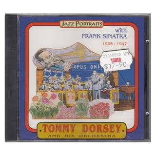<Tommy Dorsey and His Orchestra (With Frank Sinatra)> 1993 CD (Brand New)