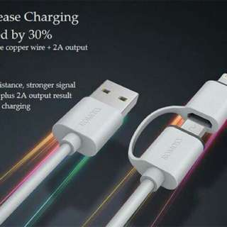Android and Iphone Cable