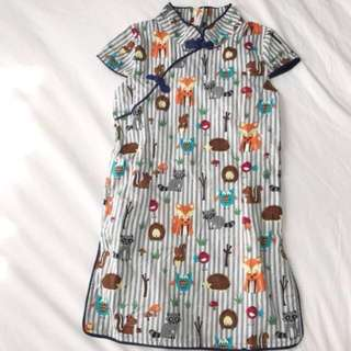18-24M Toddler girl baby girl Qipao cheong sam Dress