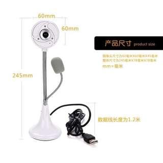 座台式高清webcam