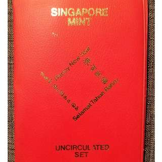 1972 Singapore Mint Uncirculated Coin Set