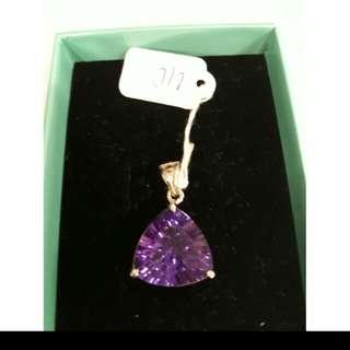 頂級紫水晶墜子