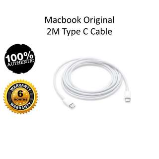 USB Type-C Charging Cable for MAC 2M
