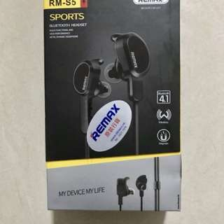 Remax RM-S5 Sports Bluetooth headset