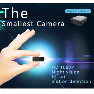 Newest IR-CUT Camera Smallest 1080P Full HD Camera XD Mini Camcorder Micro Infrared Night Vision Cam Motion Detection DV Spy Camera