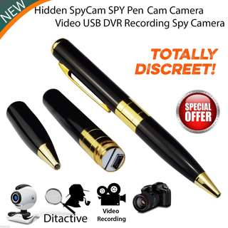 Hidden Spy Pen Camera Spy Camera Recording Video Audio Recorder Hidden Pen Camera Mini DV Spy USB DV Security CamCorder