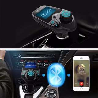 Car Bluetooth FM Transmitter MP3 Player Universal Wireless Hands-free iPhone For Car kit Smartphone Music USB Charger