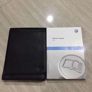 Volkswagen Polo 1.2 Owner's Manual Handbook
