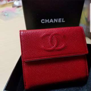 Brand new chanel wallet with coins bag
