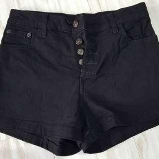 Hot pants black ori bkk