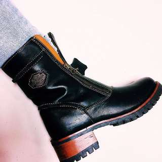 Harley davidson authentic leather boots