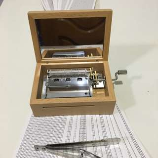 Valentine's Day gift! Only 1 in-stock available now. Play different melodies on 30 note DIY music box. Pre-order now!