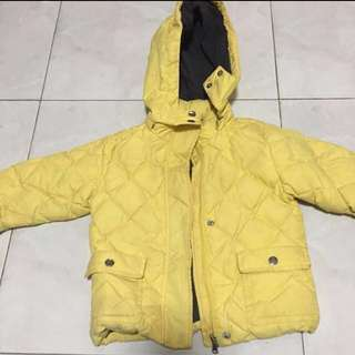 Winter coat wear wind breaker