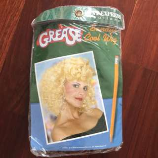 Grease blonde wig