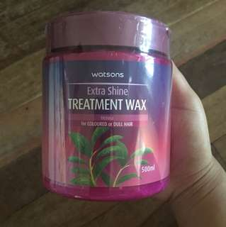 Watsons hair treatment wax