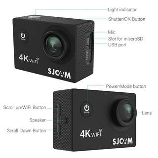 SJCAM SJ4000 Air 4K Action Camera