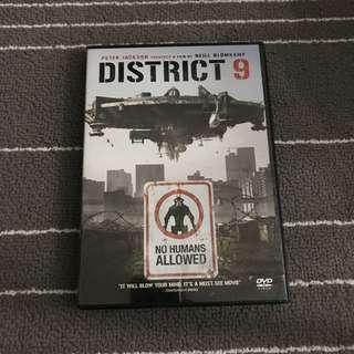 District 9 Movie DVD