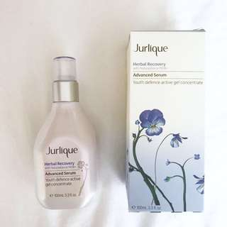 New Jurlique herbal recovery serum
