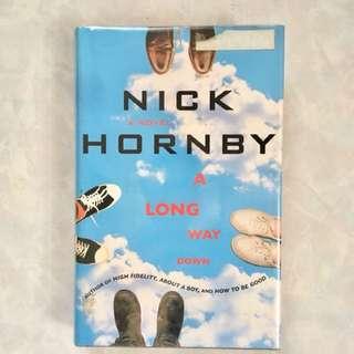 Hardbound Nick Hornby A Long Way Down