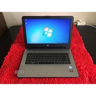 HP Pavilion 14, Intel i5-6200U, VGA Radeon R5, RAM 4 Gb, HDD 500 Gb, Mulus