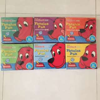 Clifford The Red Dog Phonics Reading Books