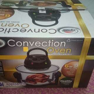Convection oven turbo