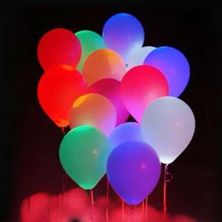 Luminous LED Balloons