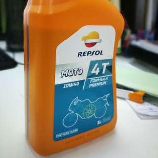 Minyak Hitam 4T semi sintetik 10w-40
