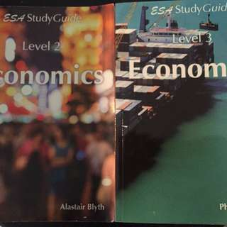 ESA level 2 and level 3 economics study guide
