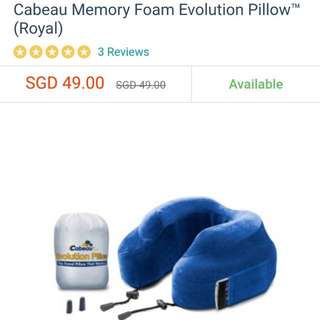 Portable Memory Foam Pillow