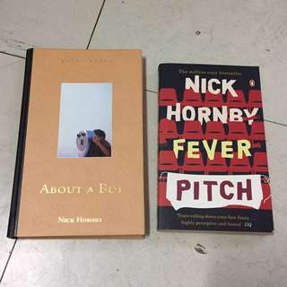 2 Nick Hornby books