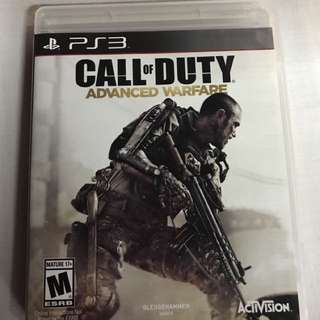 Call of duty advance warfare PS3 Game CD