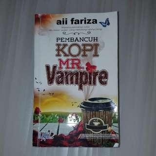 Malay Novel - Pembancuh Kopi Mr Vampire