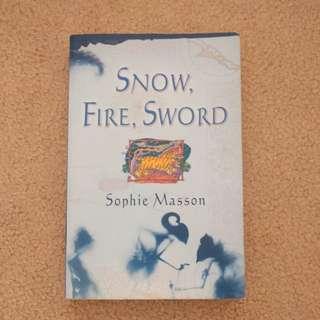 'Snow fire sword' by Spohie Mason