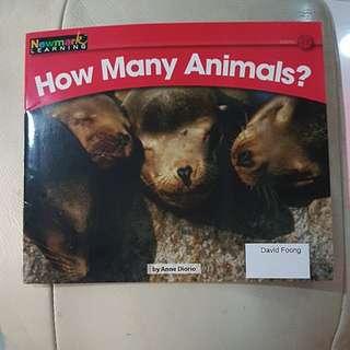 (Newark learning) how many animals?