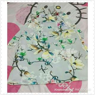 Floral Jumpsuit Skirt (2-3 yrs old)