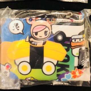 BNIB sushi cars coin purse  (be set Be quick superbe Be light mini helix) + right to buy donutella ezlink charm