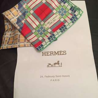 Authentic Hermès scarf