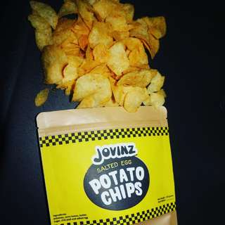 Jovinz Salted Egg Chips