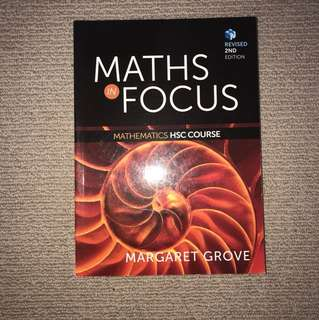 Mathematics HSC COURSE Textbook
