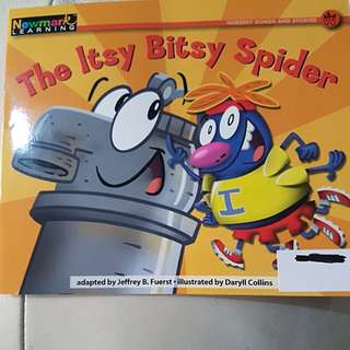 (newmark learning) the itsy bitsy spider
