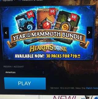 Hearthstone packs bundle