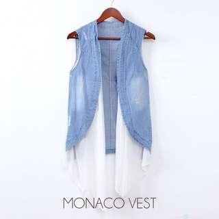 Monaco vest jeans