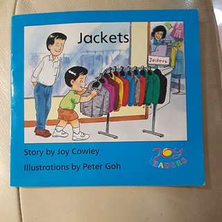 (joy readers) jackets