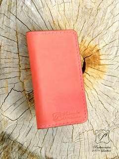 Iphone 5 5SE 真皮手製 手機套 手機殼 DIY Handmade Leather phone case