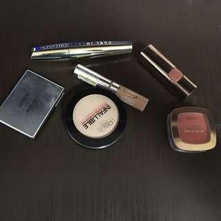 L'Oréal set Makeup