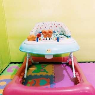 Baby company walker with Musical toy and can be used as feeding table