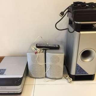 Pioneer DVD Hi Fi System